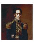 Simon Bolivar, 1825 Giclee Print by Antonio Salas