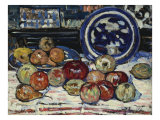 Still Life with Apples Poster by Maurice Brazil Prendergast