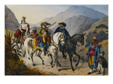 Picturesque Journey in Brazil, 19th Century Giclee Print by Johann Moritz Rugendas