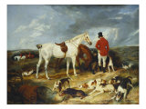 Hunters and Hounds, 1823 Posters by Edwin Henry Landseer
