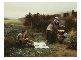 The Honeymoon Breakfast, 1887 Giclee Print by Daniel Ridgway Knight
