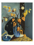 Still Life with Vase of Chinese Lanterns Giclee Print by Preston Dickinson