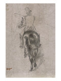 Spurring on the Horse Giclee Print by Edgar Degas