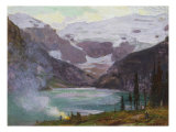 Camp by Lake Louise Poster by Edward Henry Potthast