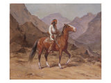 Indian on Horseback Giclee Print by Henry Raschen
