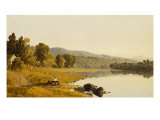 Moment's Rest Giclee Print by Sanford Robinson Gifford