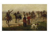 The Arrival of the Cavalry Giclee Print by Gean Smith