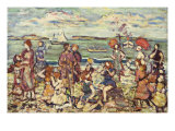 The Inlet Posters by Maurice Brazil Prendergast
