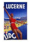 Lucerne Lido, c.1930 Giclee Print