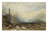 The Splugen Pass, c.1842-1843 Giclee Print