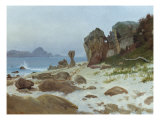 Bay of Monterey Posters by Albert Bierstadt