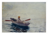 Boy in a Boat Posters by Winslow Homer