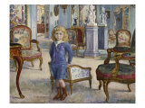 Paul de Camondo at the Hotel de Camondo, Paul de Camondo a Hotel de Camondo, 1910 Prints by Henri Lebasque