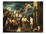 The Presentation of Pandora by Vulcan Giclee Print by Johann Heiss