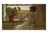 Summer Evening, 1886 Print by Childe Hassam