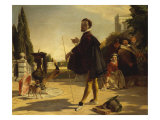 Shakespeare, Twelfth Night Act II Scene V. R. A., 1817-1903 Giclee Print by John Calcott Horsley
