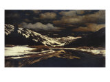 Early Winter in the Sierra Nevada Giclee Print by William Bradford