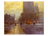 Madison Square Poster by Lowell Birge Harrison