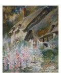 Anne Hathaway's Cottage, 19th Century Giclee Print by David Woodlock