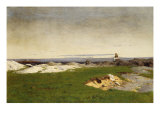 Looking Out to Sea, 1877 Giclee Print by Gilbert Gaul