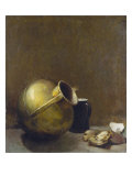 Still Life with Oysters and Brass Jug, 1892 Giclee Print by Soren Emil Carlsen