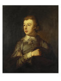 Portrait of a Boy, Said to Be William Pitt the Younger, 18th Century Giclee Print by Tilly Kettle
