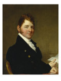 Portrait of Francis James Jackson Giclee Print by Gilbert Stuart