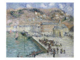 The Fish-Market, Fecamp, La Criee Aux Poissons, Fecamp, 1925 Prints by Gustave Loiseau