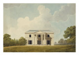 Design For a Villa, 1799 Giclee Print by Sir Jeffry Wyatville
