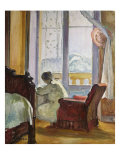 Woman Writing, Femme Ecrivant Prints by Henri Lebasque