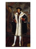 Portrait of Thomas Howard, Third Duke of Norfolk, Wearing the Order Collar of the Garter Giclee Print by Hans Holbein the Younger