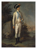 Portrait of an Official, the Fijo Regiment of Puerto Rico, 1790 Giclee Print by Jose Campeche Y Jordan