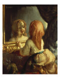 Antoinette Herbert Looking in the Mirror Prints by Jean-François Millet