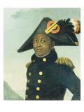 Portrait of Toussaint Louverture. Giradin, 1913 Posters
