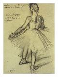 Edgar Degas - Danseuse - Giclee Baskı