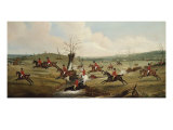 The Belvoir Crossing the Smite. ,, c.1823 Giclee Print by John E. Ferneley