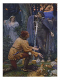 Bertuccio&#39;s Bride, 1845 Giclee Print by Edward Robert Hughes