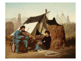 Civil War Tune, 1867 Giclee Print by Edwin Forbes