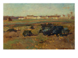 Landscape, 1884 Giclee Print by Willard Leroy Metcalf