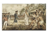 Oatehite, from the Voyages of Captain Cook Giclee Print by Robert Isaak Cruikshank