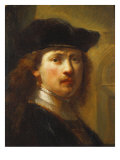 Portrait of Rembrandt, Half Length Giclee Print by Govaert Flinck