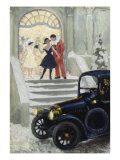 After the Ball, c.1917 Prints by Paul Fischer