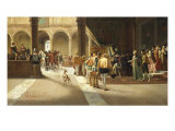The Arrival, 1882 Giclee Print by Pietro Gabrini