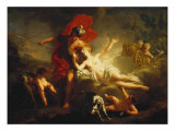 Venus and Adonis, 1713 Giclee Print by Jean-Marc Nattier