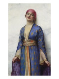 Yasemeen from the Arabian Nights, 19th Century Giclee Print by William Clarke Wontner