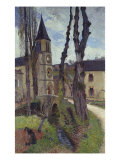 Church, Eglise Art by Henry Moret