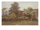 Blake's House, Hampstead Heath, 19th Century Posters by Helen Allingham