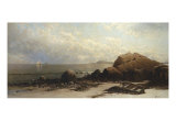 Low Tide Giclée-tryk af Alfred Thompson Bricher