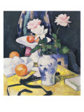 Roses and Oranges, c.1920 Prints by Samuel John Peploe