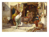 The Carpet Merchant Giclee Print by F. Ballesio